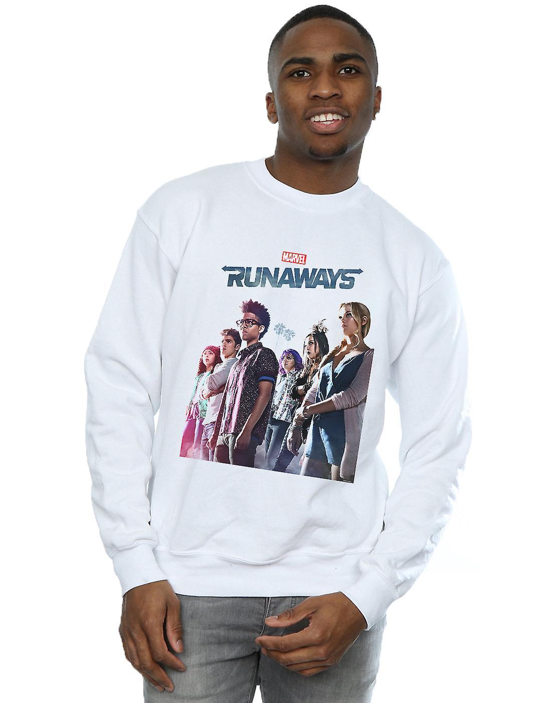 Marvel Men's Runaways Misty Poster Sweatshirt