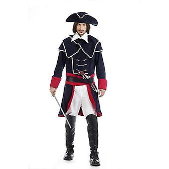 Pirate de costume pour hommes capitaine pirate capitaine pirate costume Monsieur Corsair