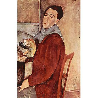 Autoretrato, Amedeo Modigliani, 60x40cm