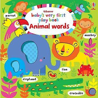 赤ちゃんの初めての本動物言葉遊びフィオナ ワット - ステラ Baggo によって