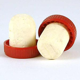 Plastic Topped Corks - Red Bag Of 1000