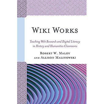 Travaux de wiki: Enseignement Web recherche et alphabétisation numérique en histoire et en sciences salles de classe