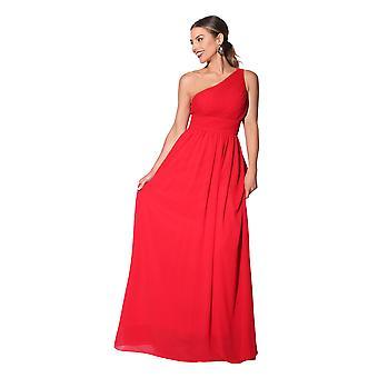 KRISP Frauen Maxi Kleid formal lange Damen Kleid Chiffon Abend Hochzeit Party Größe 8-27