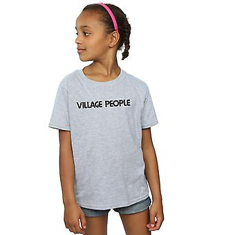 Dediny ľudia dievčatá text logo T-shirt