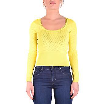 Liu Jo Ezbc086046 Women's Yellow Viscose Sweater