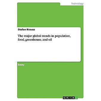 De store globale trendene i befolkningen mat drivhus og olje av Krauss & Stefan