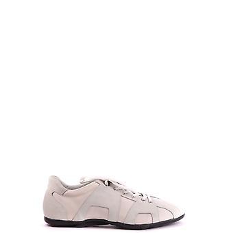 Cesare Paciotti Ezbc112011 Men's White Suede Sneakers