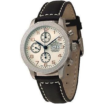 Zeno-watch mens watch NC Clou de Paris chronograph retro 11557TVDD-f2