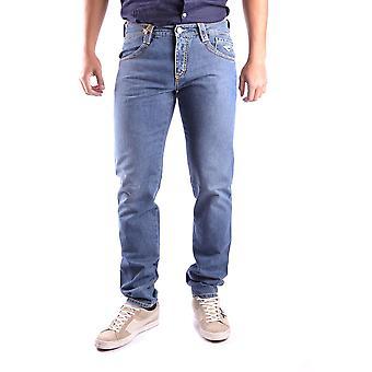 Carlo Chionna Ezbc251001 Men's Blue Denim Jeans