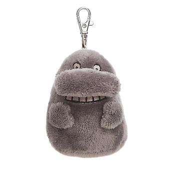 Moomins The Groke 4 Inch Plush Key Clip