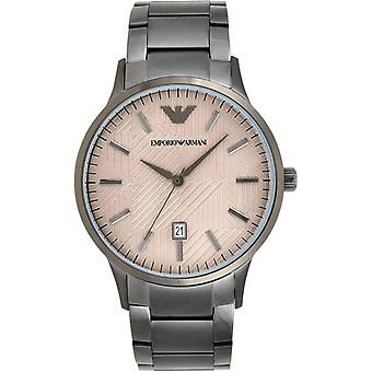 Emporio Armani Ar11120 Grey Stainless Steel Bracelet Men's Watch