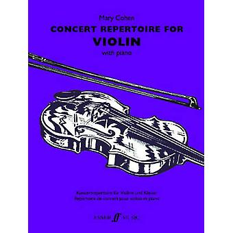 Concert Repertoire for Violin by Mary Cohen - 9780571524402 Book