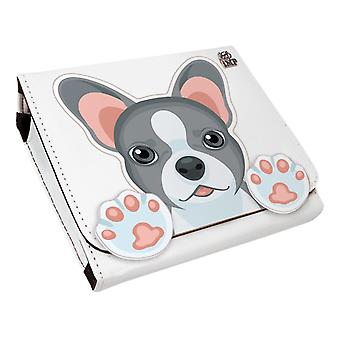 French bulldog protective carry case (nintendo 2ds)