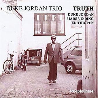 Duke Jordan - Truth [CD] USA import