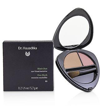 Dr. Hauschka Blush Duo - N.o 03 Nectarina besada por el sol - 5.7g/0.2oz