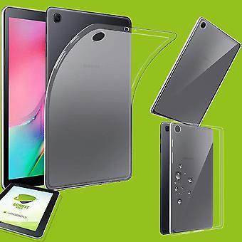 Voor Samsung Galaxy tab A 10,1 2019 T510 T515 transparante Case gevaldekking + HD LCD Slide