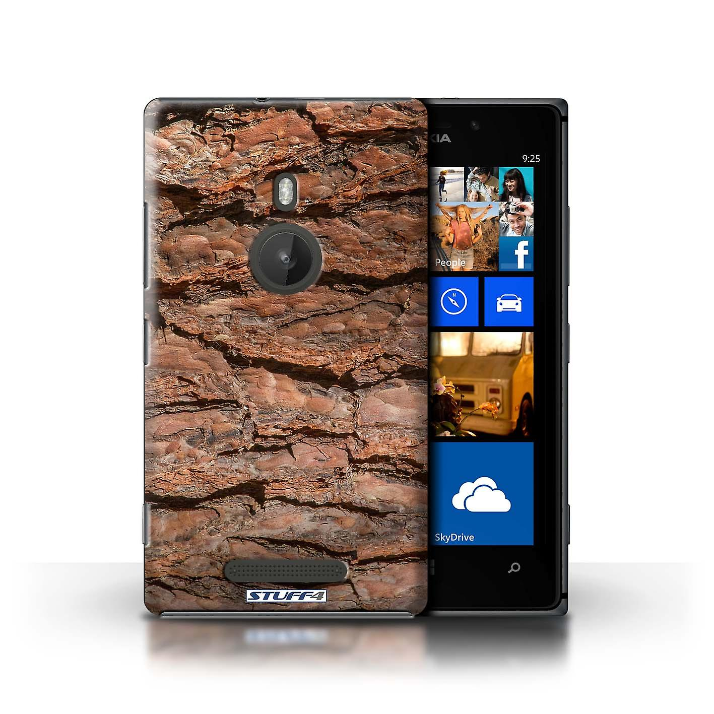STUFF4 Case/Cover for Nokia Lumia 925/Layered/Brown/Tree Bark