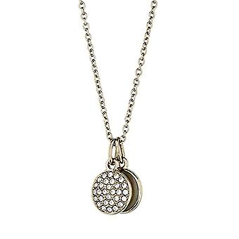 Emporio Armani Women's Chain in Stainless Steel with Crystal and Mother of Pearl Round EGS2157710