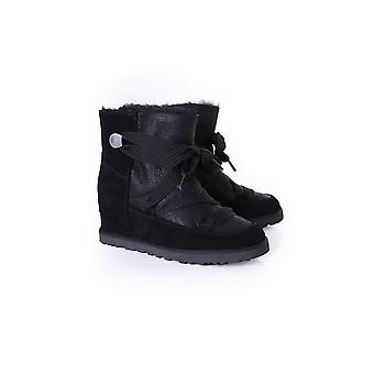 UGG Womens Classic Femme Lace Up Concealed Wedge Boot