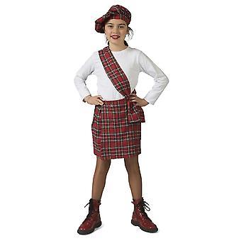 Scotswoman Emma tyttö puku Highlands koulu tyttö Snout puku
