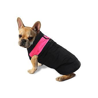 الكلب سترة مبطن ماء الحيوانات الأليفة الملابس سوبر الوردي الدافئ