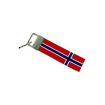 Door Cles Keys Car Motorcycle Band Fabric Flag House Tuning Norway