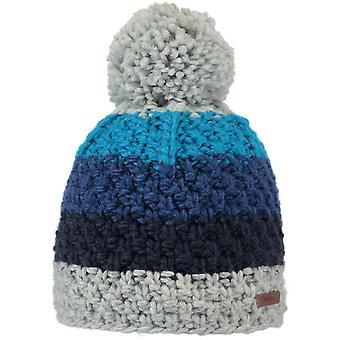 Barts Sten Bobble Hat in Heather Grey