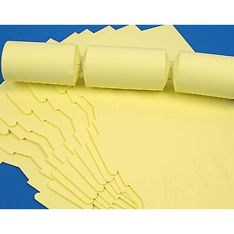 100 Pale Pastel Yellow Make and Fill Your Own DIY Christmas Cracker Boards