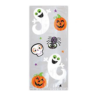 Amscan Pumpkins and Ghosts Treat Bags (Pack of 20)