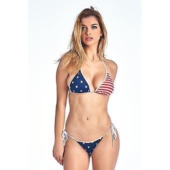USA flag brasilianske cut bikini