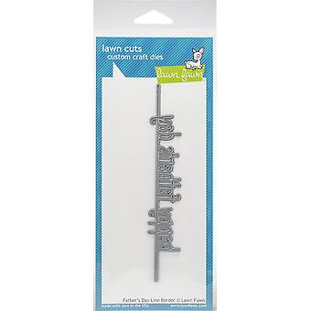 Lawn Fawn Father's Day Line Border Cutting Die
