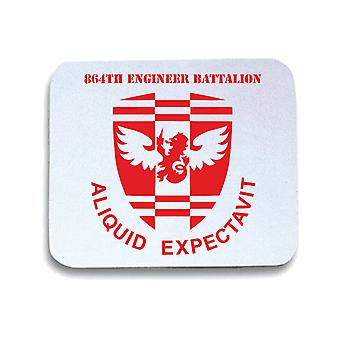 Tappetino mouse pad bianco wtc0604 864th engineer bn