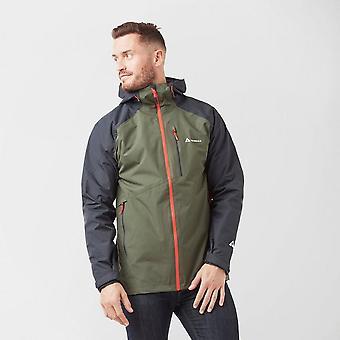 New Technicals Men's Lightweight Waterproof Shell Jacket Black