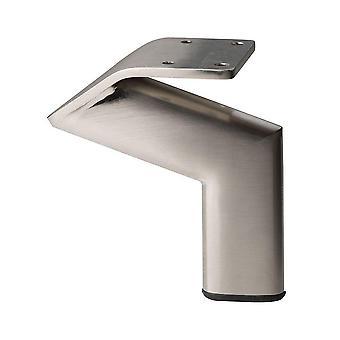 Steel stainless Design Furniture Leg 12 cm