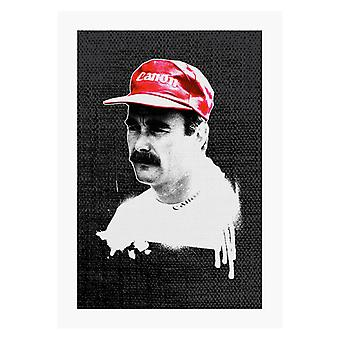 Motorsport Images Nigel Mansell At Monte Carlo 1992 A4 Print