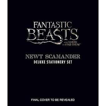 Fantastic Beasts and Where to Find Them Newt Scamander Delu by Insight Editions