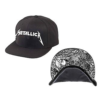 Metallica gorra banda insignia daños Inc nuevo negro oficial snapback