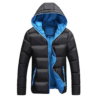 Allthemen Men 's Solid Hodded Coat Winter Warm Outwear Hoodies Allthemen Men 's Solid Hodded Coat Winter Warm Outwear Hoodies