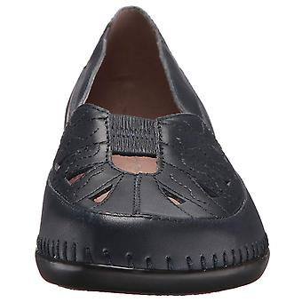Easy Spirit Womens Dixiee Leather Closed Toe Clogs