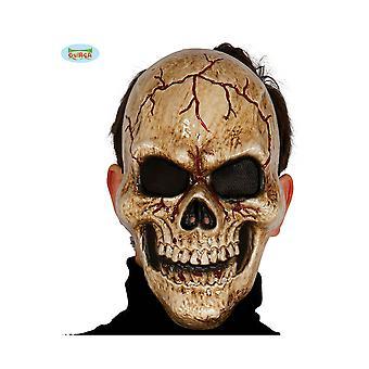 Halloween en horror halloween skeleton masker in kunststof