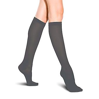 Therafirm Light Womens Support Socks [Style A2] Black  L