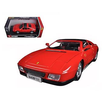 Ferrari 348 TS Red 1/18 Diecast Modellauto von Bburago