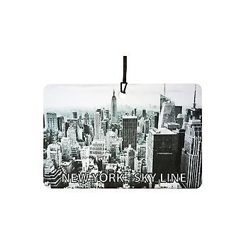New York - Sky Line Car Air Freshener