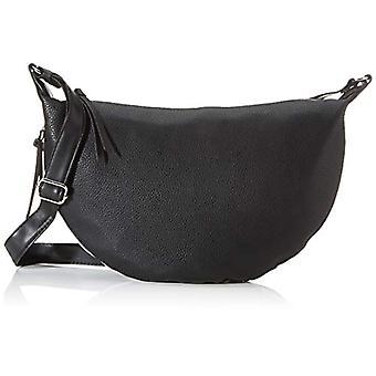 Tom Tailor Denim Cancun - Black Women's Shoulder Bags (Schwarz) 34x23x6 cm (W x H L)