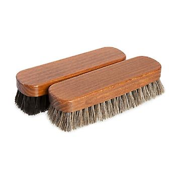 Premium Medium Horsehair Buffing Brushes shoes and boots