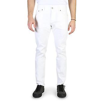 Tommy hilfiger men's jeans white mw0mw01200