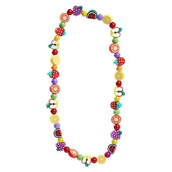 Children's Funky Fimo Tutti Frutti Elasticated Necklace