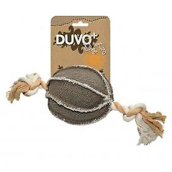 Duvo+ Canvas Dog Toy Ball With Cord (Dogs , Toys & Sport , Stuffed Toys)