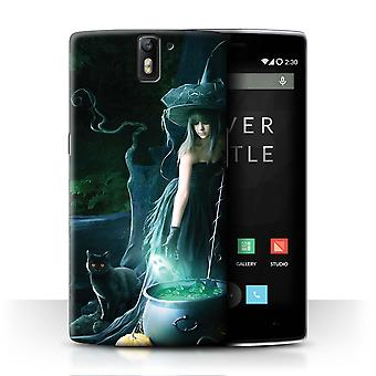 STUFF4 Case/Cover for OnePlus One/Witch's Cauldron/Dark Magic