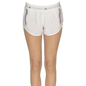 Adidas by Stella Mccartney Ezgl143009 Damen's Weiße Nylon Shorts